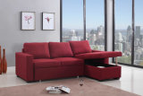Base de dobramento do sofá do sofá da sala de visitas de Moder com sofá da tela