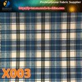 Waren auf Lager! Preiswertestes Polyester-Garn-gefärbtes Check gesponnenes Gewebe für Umhüllung (X001-4)