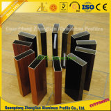 El suministro de anodizado de aluminio oval / plaza / Tubo redondo plana / Fabricante de aluminio