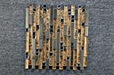 Mattonelle di mosaico di vetro decorative di cristallo