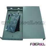 Caixa de terminais de fibra óptica com portas de St para o cabeamento interno