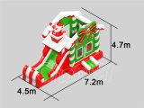 Tema de Natal Castelo de salto inflável para a festa