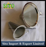 Filtre à café en mousse perforée en acier inoxydable