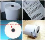 papel termal de 57X50m m para la caja registradora