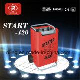 Começar o carregador de bateria com GS (START-220/420/620)