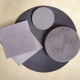 Нержавеющая сталь/черная ткань провода фильтра