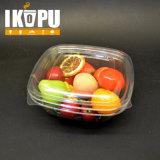 Ciotola di insalata di plastica dell'animale domestico su ordinazione con i coperchi