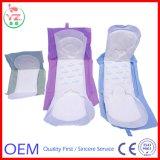 Garnitures sanitaires de hygiène féminine de serviette hygiénique molle superbe de femmes