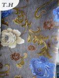Tessuto 100% del sofà del jacquard del poliestere con fuori Chenille da 400GSM