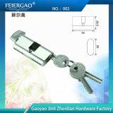 Cerradura de llave de aluminio del cilindro de aluminio / cerradura de puerta 002
