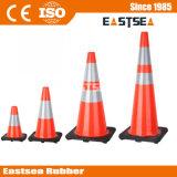 Оранжевый, Желтый, Зеленый Цвет ПВХ Движения по Безопасности Дорожного Движения Конуса