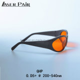 Anteojos del laser de las gafas de seguridad de laser del deporte del Ce En207 para el excímero, ultravioleta, laser verde