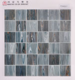 床タイルのガラスモザイク48mm