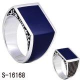 남자를 위한 새로운 디자인 925 순은 반지 보석