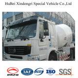 camion di consegna di trasporto della betoniera dell'euro 3 di 12cbm Dongfeng con Cummins