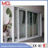 Portello di vetro del PVC del portello scorrevole del PVC della fabbrica di Mingqi