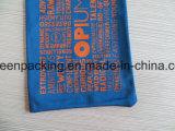 Azul oscuro bolsa de microfibra / bolsa con cordón