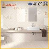 300x600mm para inyección de tinta de cerámica esmaltada pared brillante mosaico para decoración de interiores