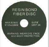 Granulosità di smeriglitatura del disco di molatura della fibra della resina 80