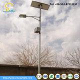 5 años de garantía calle la luz solar con 3m-12m polo