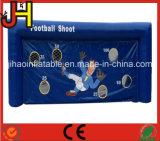 كرة قدم محكمة قابل للنفخ كرة قدم تصويب لعبة في علامة