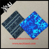 100% soie imprimé mouchoir Custom Pocket Square pour homme