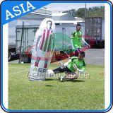Zona de juegos inflables Fútbol Bote de entretenimiento