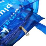 De transparante suikergoed-Gekleurde Waterdichte Handtas van pvc (A091)