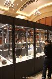 Alto escaparate de cristal plegable para la visualización de la porcelana