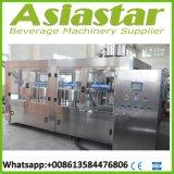 Automático 3 en 1 Máquina de llenado de la botella de agua y línea de embalaje