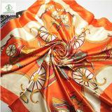 90*90cm tache de soie imprimés Bandana Fashion Lady foulard carré Factory