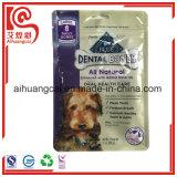 Aluminiumfolie-Plastikmit reißverschlußnahrungsmittelbeutel für Haustiere