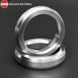 Junta octagonal de la junta del anillo del acero inoxidable con la certificación del API y de la ISO