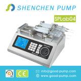 Électro pompe de rotation de seringue de précision de laboratoire de Multi-Pointeau