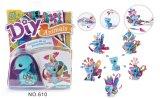 Jouets de papier des gosses DIY pour l'Animal-Paon