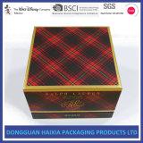 Escolhir a caixa de presente do papel do perfume do cartão do bloco