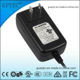 12V/2A/25W AC/DC Schaltungs-Energien-Adapter-Zubehör mit USA-Standard-Stecker