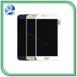 Tela LCD do telefone celular para S6/S7 Blk/Wht exibir a tela sensível ao toque