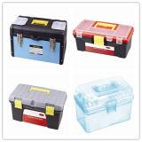 L'insieme di plastica di immagazzinamento in la cassetta portautensili ha formato differente per la famiglia