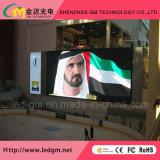 Afficheur LED P6/écran/signe polychromes d'intérieur pour l'exposition d'étape