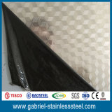 AISI 430 4X8 Embossed Stainless Steel Sheet Metal pour panneaux muraux
