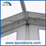 Tenda libera trasparente esterna della tenda foranea della portata del coperchio 15m del tetto per un partito di 500 capienze