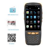 4 인치 접촉 스크린 4G 쿼드 코어 인조 인간 5.1 Barcode 스캐너