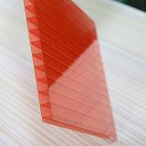 A estufa do policarbonato apainela a folha oca do policarbonato