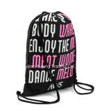 Backpack мешка Drawstring полиэфира Nylon (YYDB020)