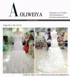 Aoliweiya personnalisent les robes de mariage nuptiales plus la taille