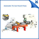 缶の上のリングの底自動作成のための穿孔器の送り装置機械を押しなさい
