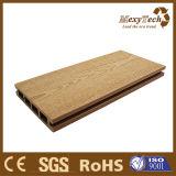 Decking di legno materiale facilmente di pulitura del composto del grano di WPC