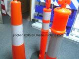 Столб пластмассы 1150mm высокого качества ручки Looper отражательный предупреждающий