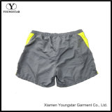 Mens Swim Curto Casual Amarelo Surfing Beach Shorts Trunk